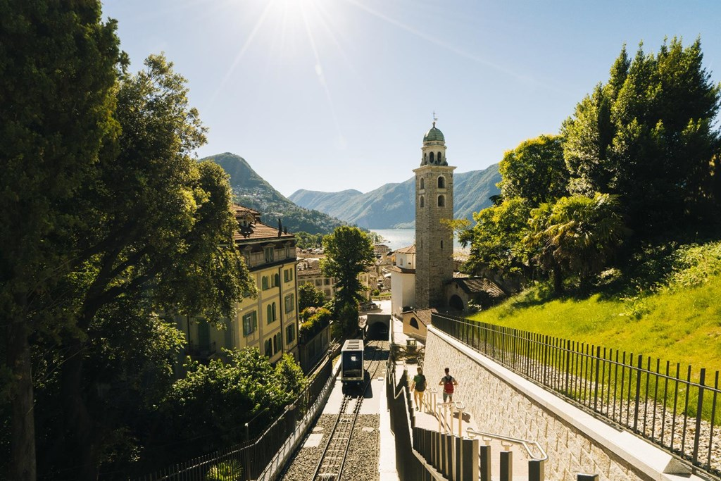 Lugano Guided City Walk, Funicular