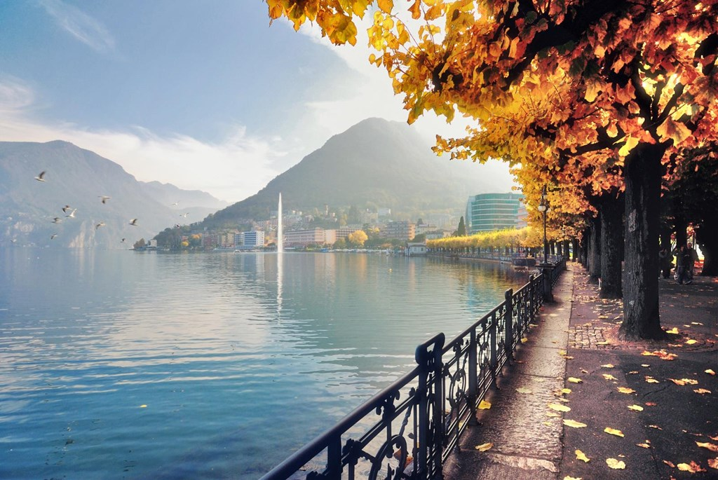 Autumn Flavours in Lugano - City Tour, Lungolago