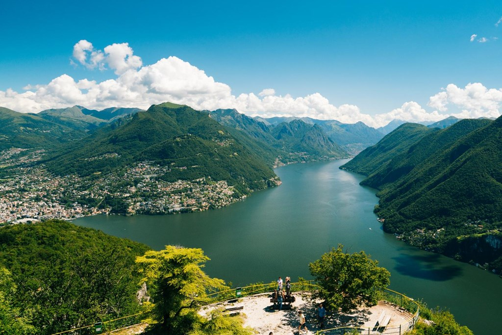 Lugano Monte San Salvatore, Guided excursion