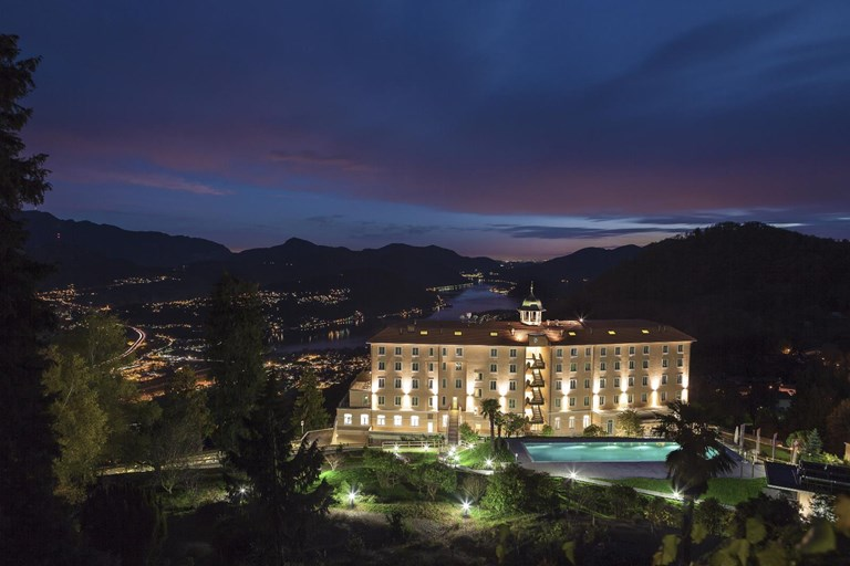 1.Kurhaus Cademario Hotel & Spa Hotel Outside night 2.jpg