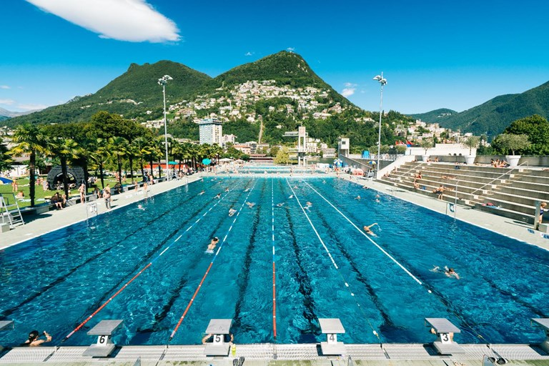 Lido di Lugano, Swimming pool