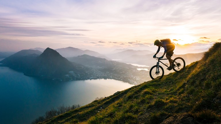 Mountain Biking, Lugano Region MTB Map