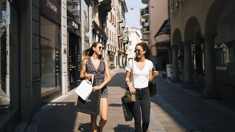 Shopping and lifestyle in Lugano Region