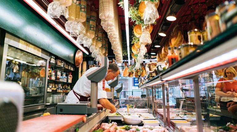 Shopping and lifestyle, Gastronomy shops in the region