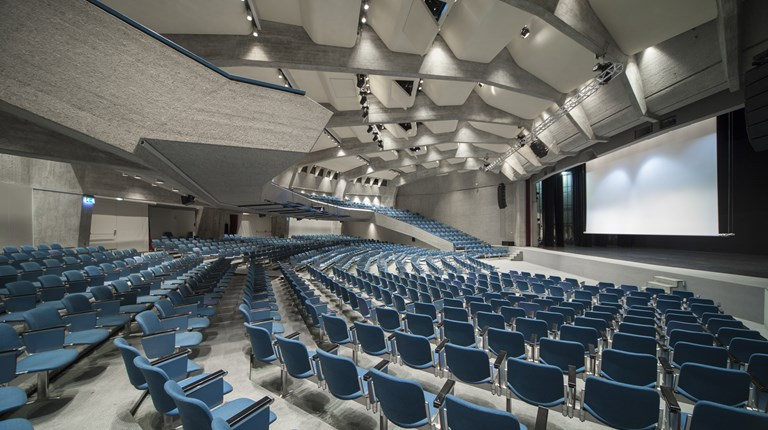 Why Lugano Region, Convention Centre in the City