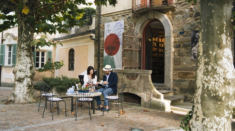 Museums and cultural spaces, Outside of Hermann Hesse Museum in Montagnola