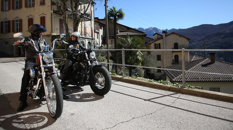 Lugano by Motorbike, Local motorbike routes in the Region