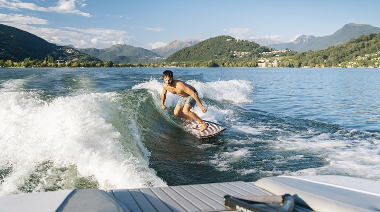 Lake and nature, Water sports in the region