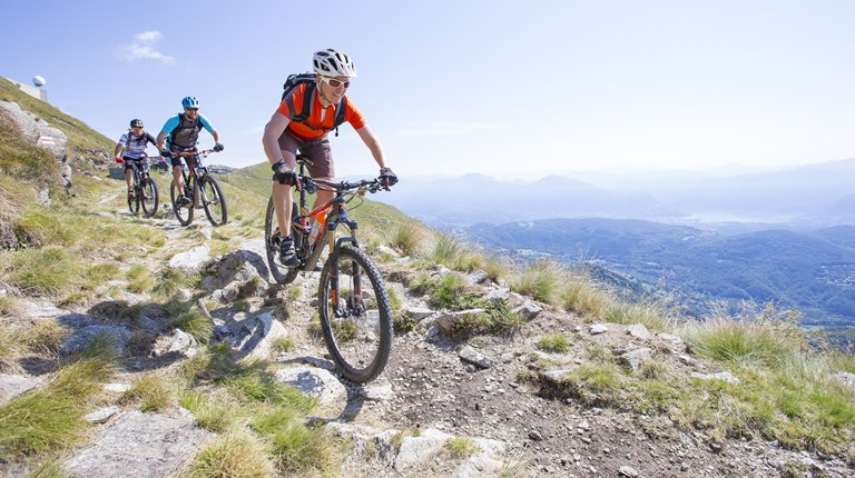 Lake and nature, Mountain biking trails in the Region