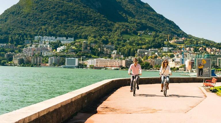 Lugano  by Bike, Bike sharing in Lugano Region