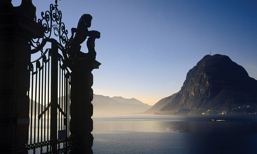 lugano through gate