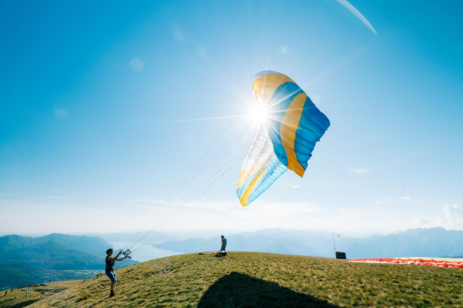 Sport and leisure, Paragliding