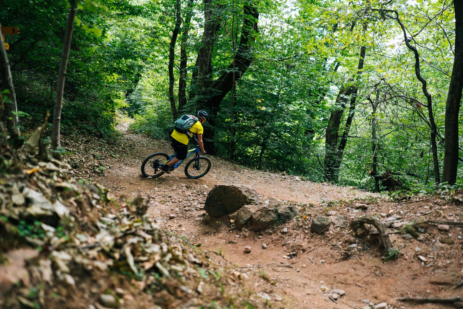 Sport und Freizeit, Mountain Bike trails