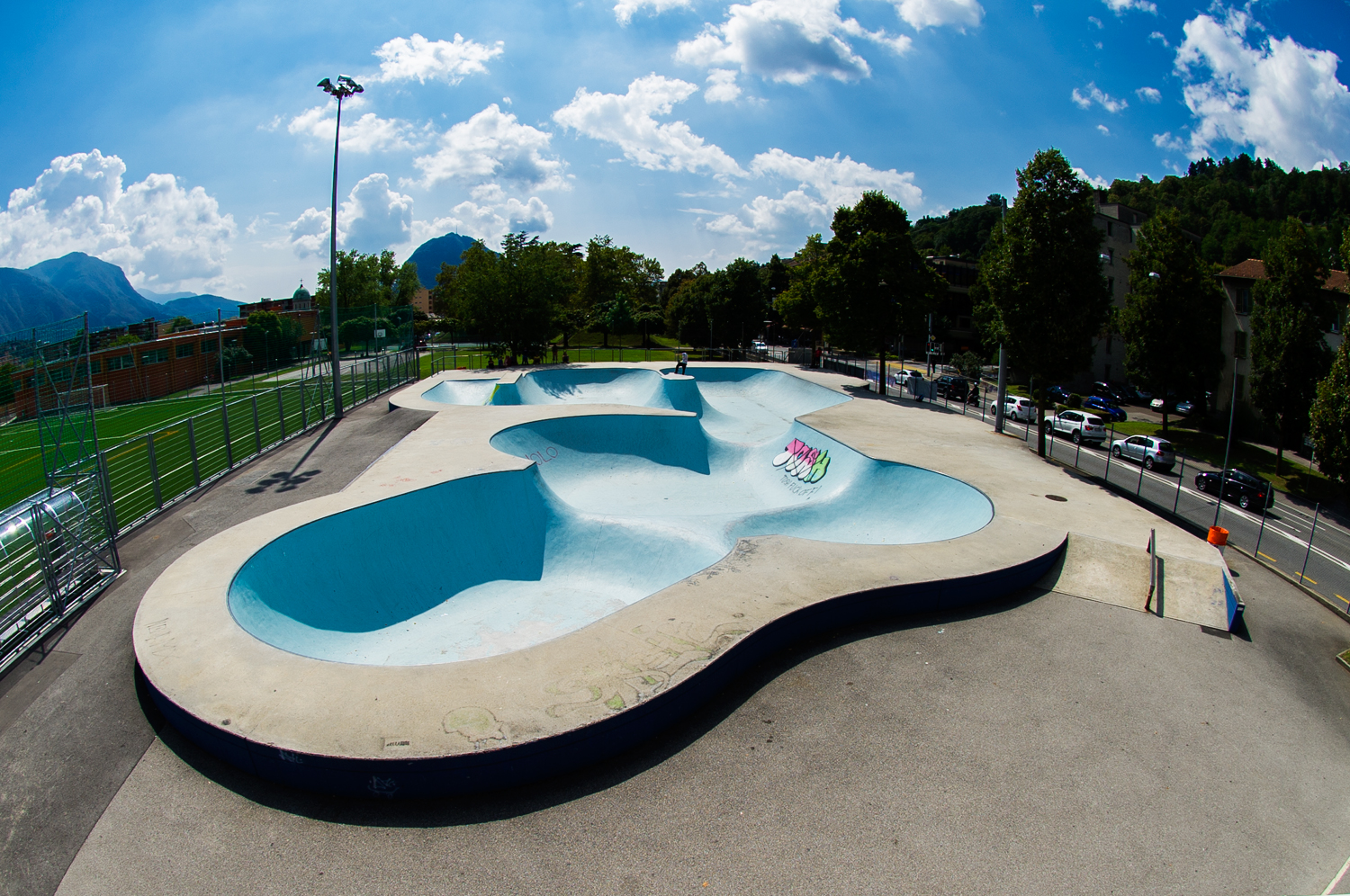 Sport and leisure, Skateparks in the region