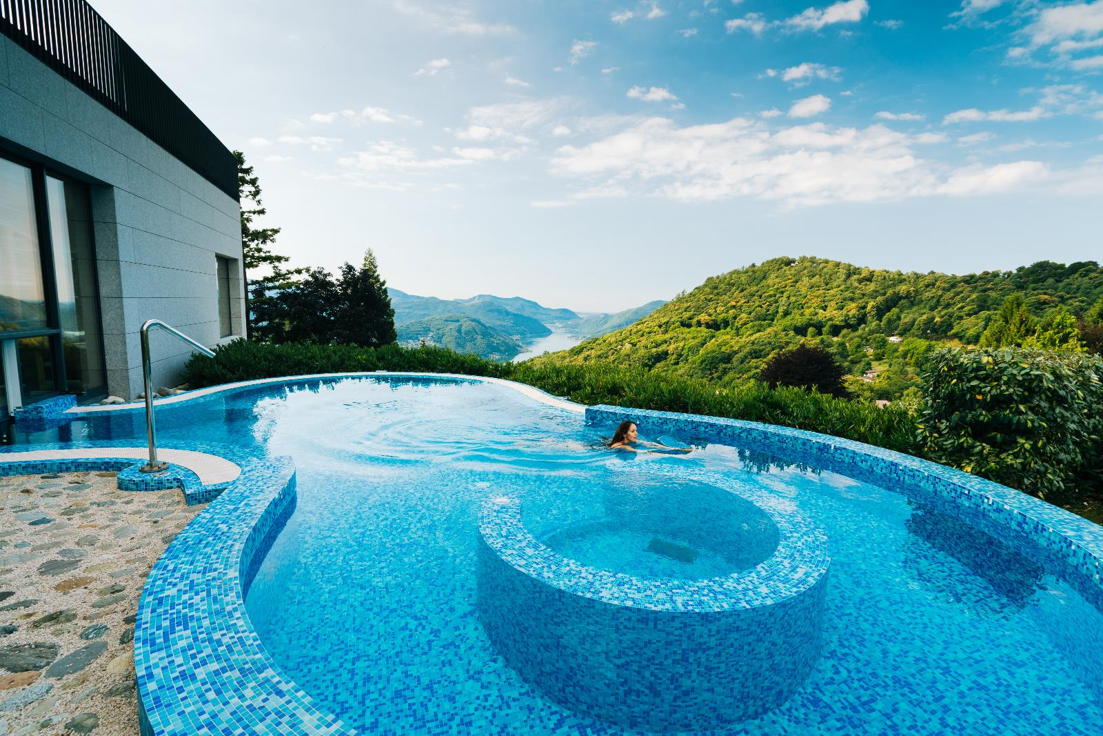 Health and wellness, Hotel with panoramic swimming pool