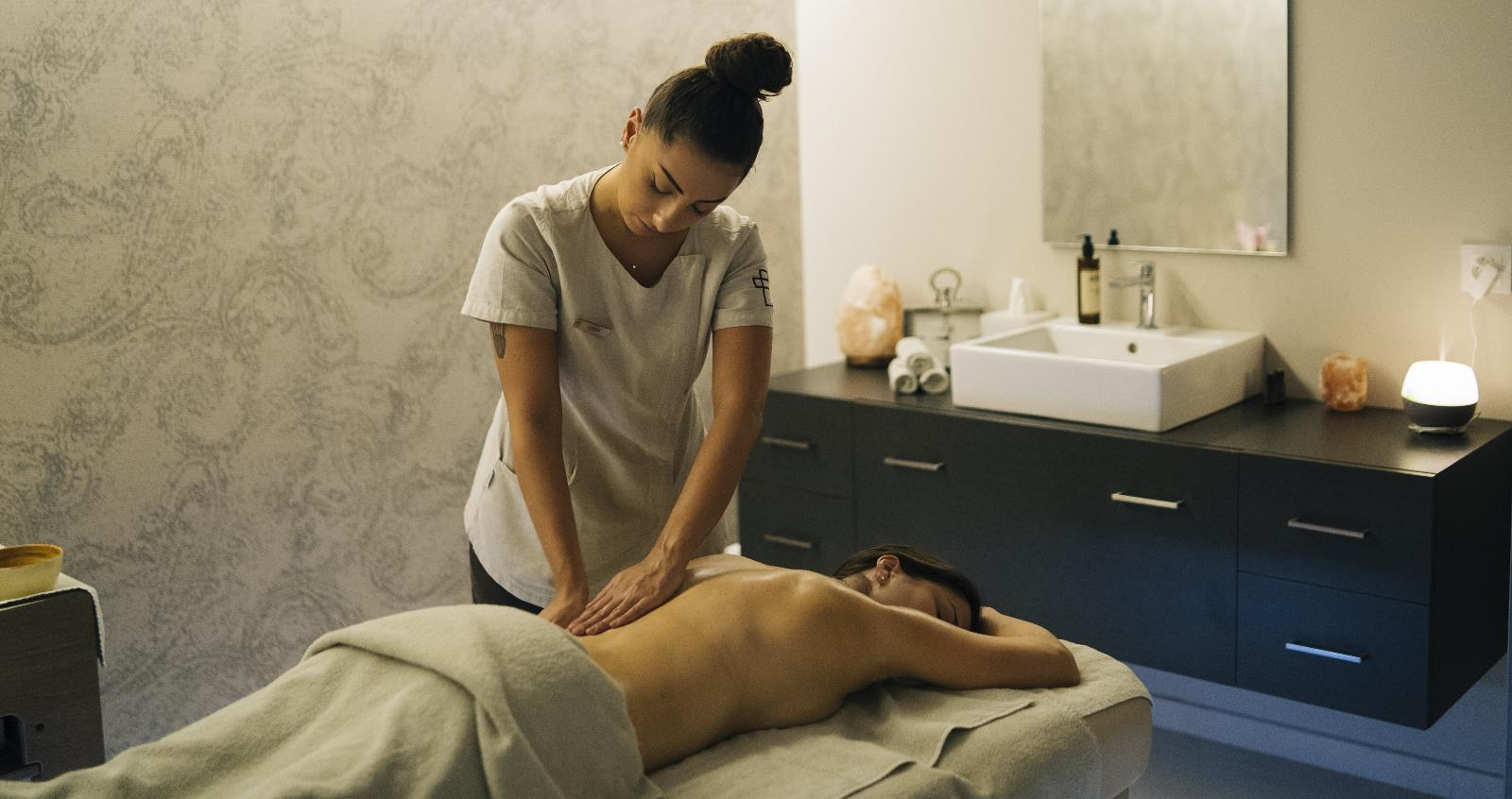 Health and Wellness, Massage centres in the Region