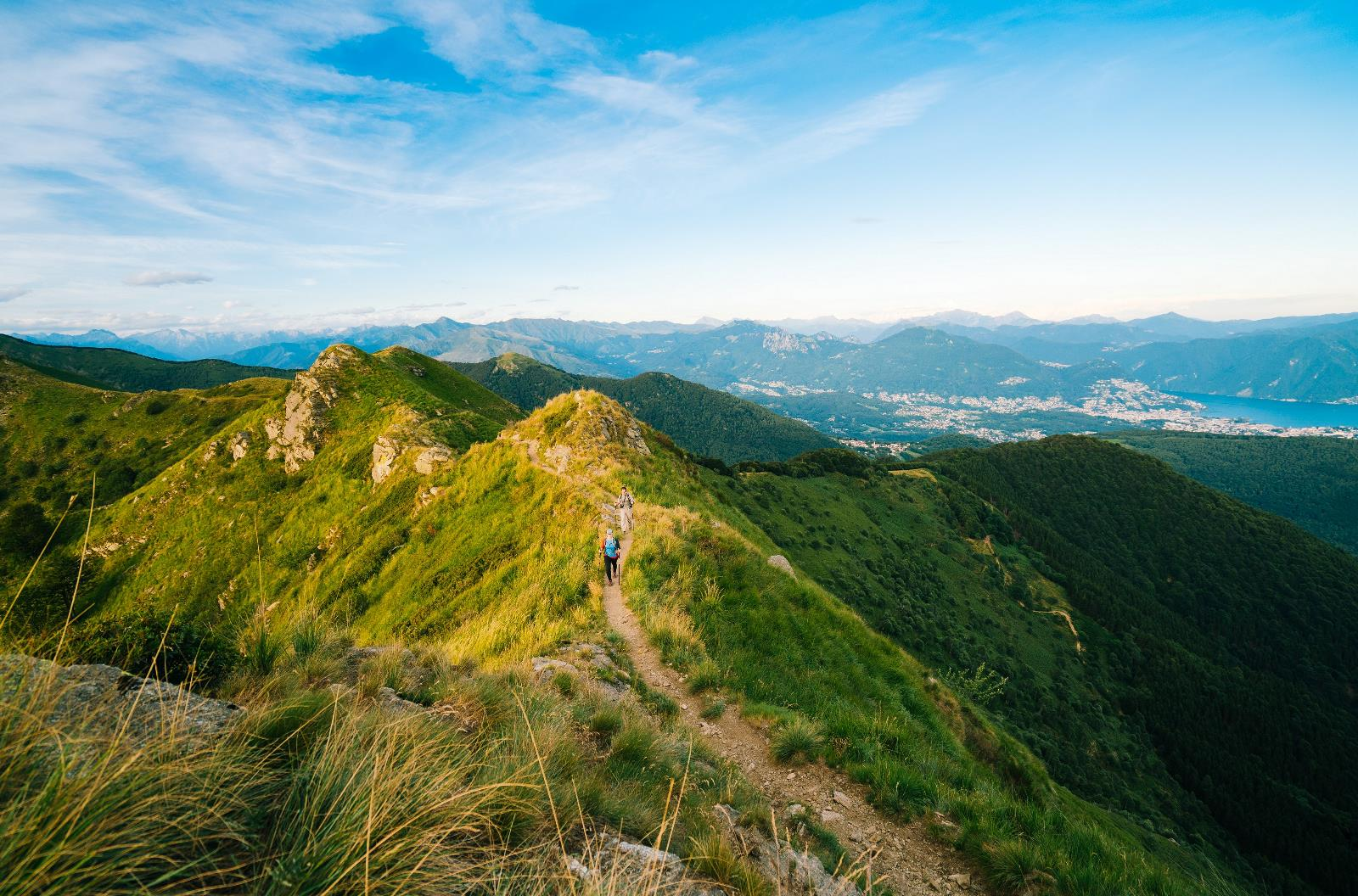The Monte Tamaro - Monte Lema Hike